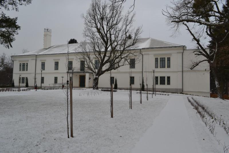 A hófödte park és a Kastély